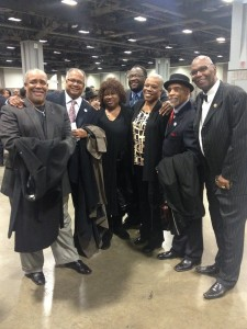 MYLIAA Alumni Group at Mayor Marion Barry's Funeral