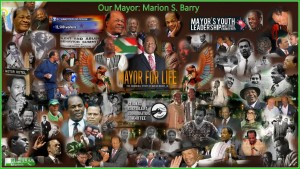 Mayor Marion Barry Collage