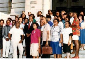 MYLI Alumni Group with Mayor Marion Barry
